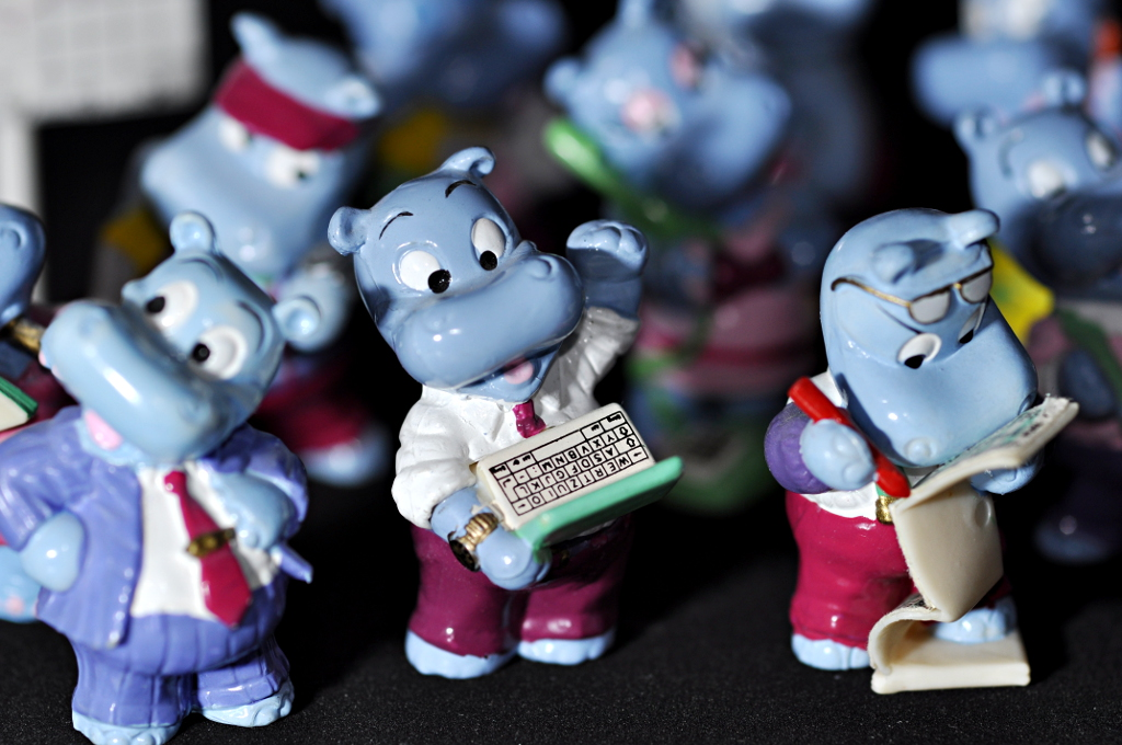 Happy Hippo Company 1994, © by Ferrero
